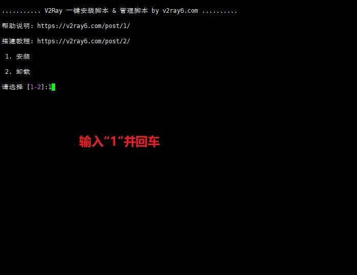 一键V2Ray(v2)搭建详细图文教程Linux系统 互联网IT 第3张