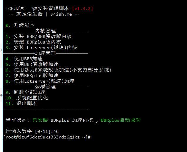 QQ截图20201101035937.jpg BBRPlus一键安装脚本,BBRPlus加速一键安装脚本,BBR加速 互联网IT
